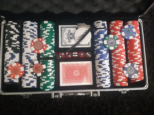 NHL poker set