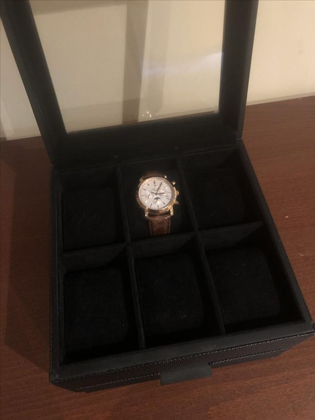 Watch Box with Drawer