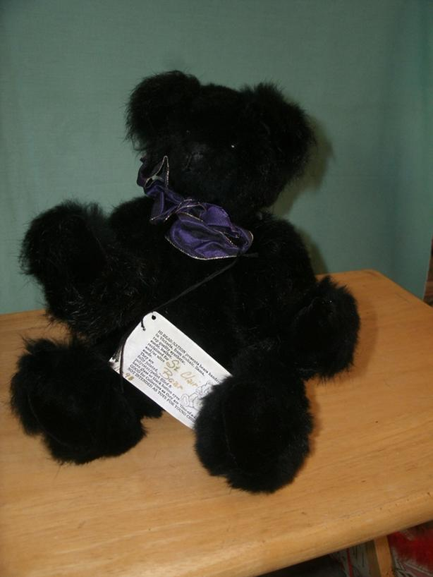 Authentic Black Fur Bear