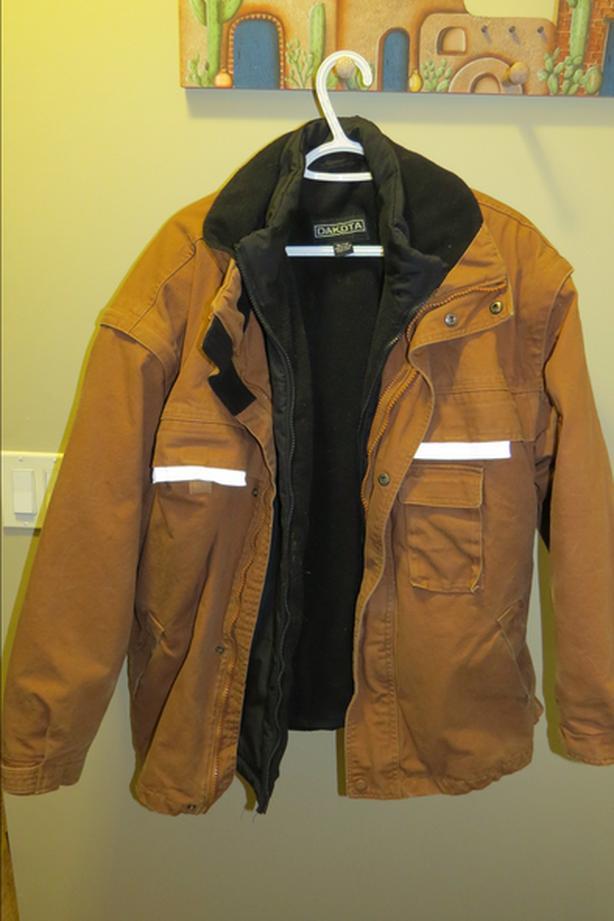 Mens Dakota winter work coat