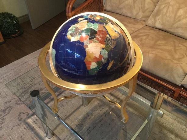 Gemstone Globe - heirloom quality