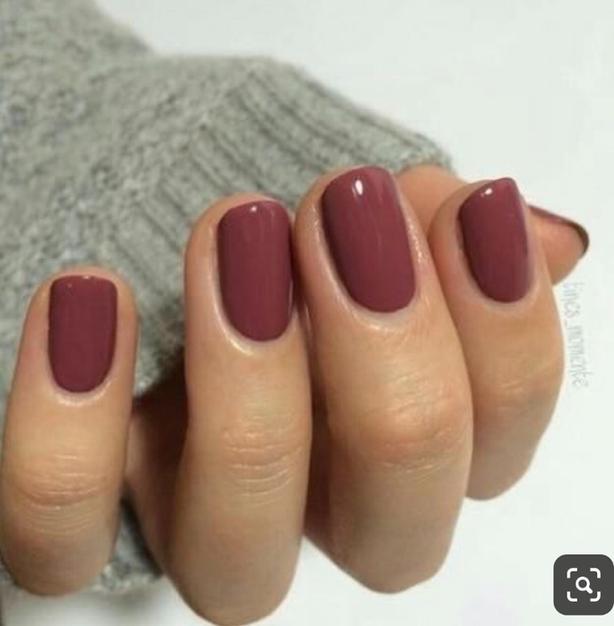 gel polish application