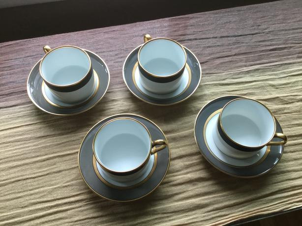 Fitz and Floyd China cups and saucers