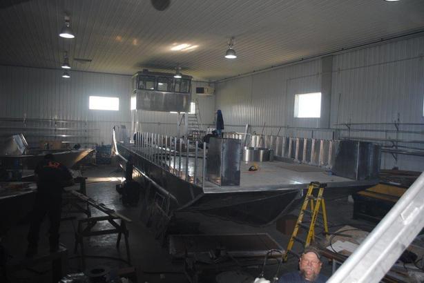 40' x 16' Henley Landing Craft - 34 ton capacity