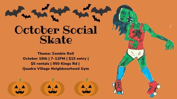 Zombie Roll Social Skate