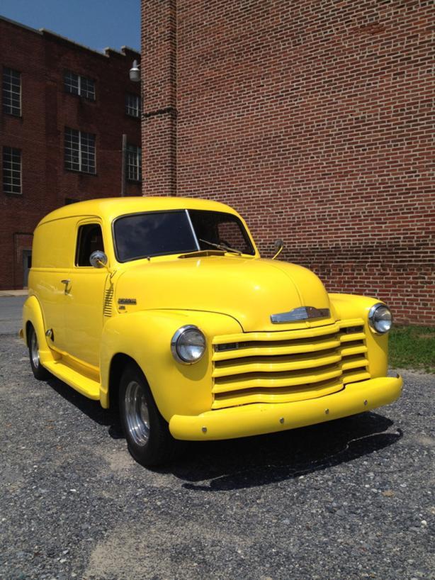 1950 Chevy 3100 Panel Van Very rare
