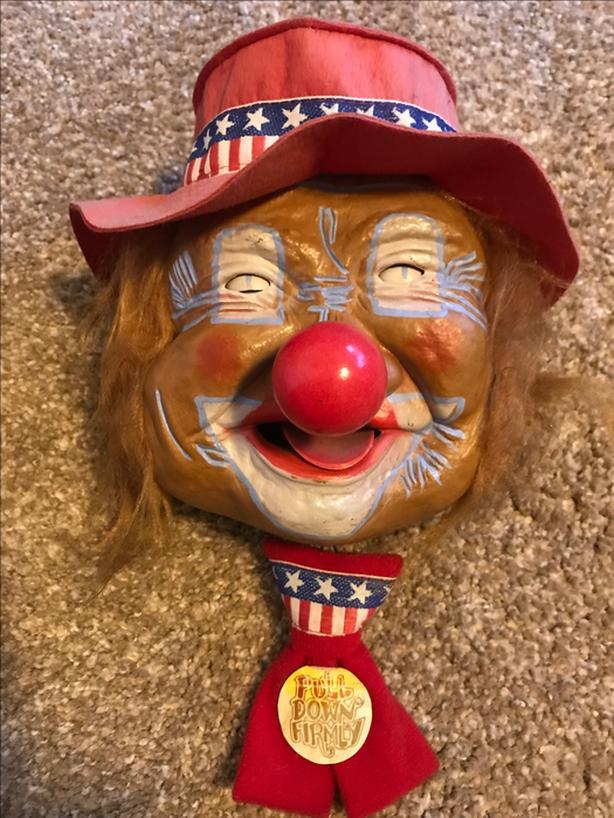 Original Peter Laffun Head Clown Figuren