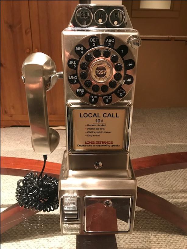 Vintage style wall phone