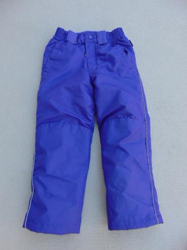 Snow Pants Child Size 7-8 Alpine Tek Purple As New