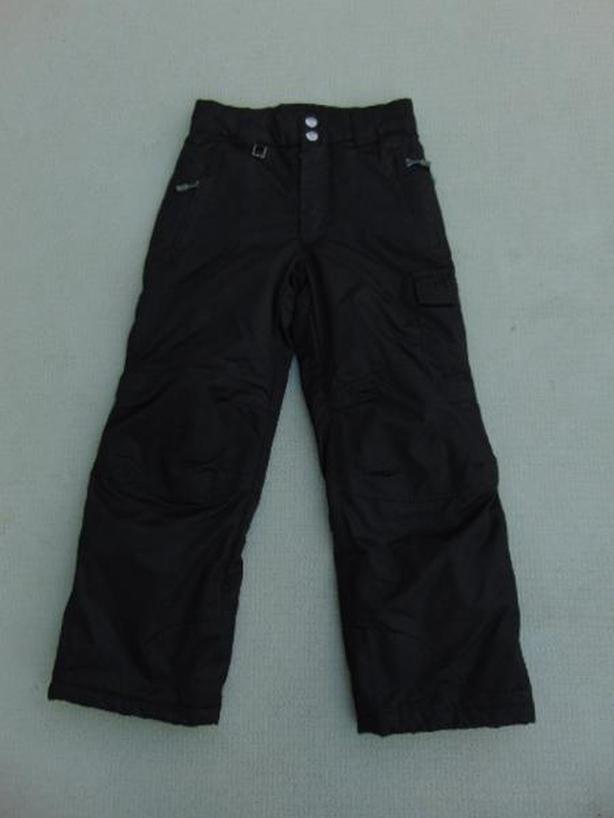 Snow Pants Child Size 8 Firefly Black Fantastic Quality