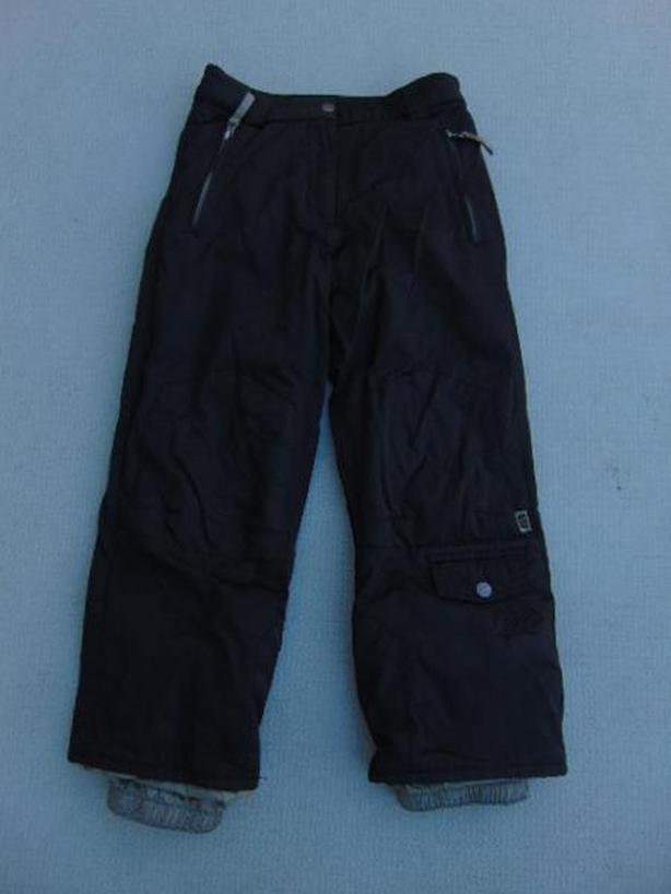 Snow Pants Child Size 10 D2 Snowboarding Black Waterproof Fantastic Quality