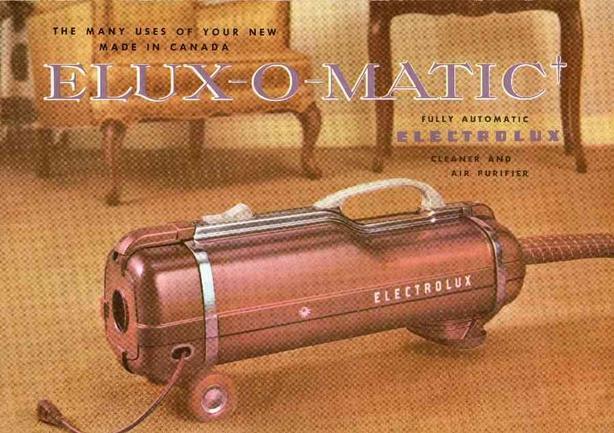 Vintage Electrolux Vacuum