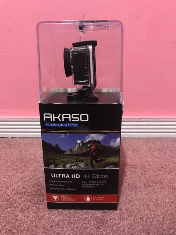 Akaso 4k Edition Action Camera