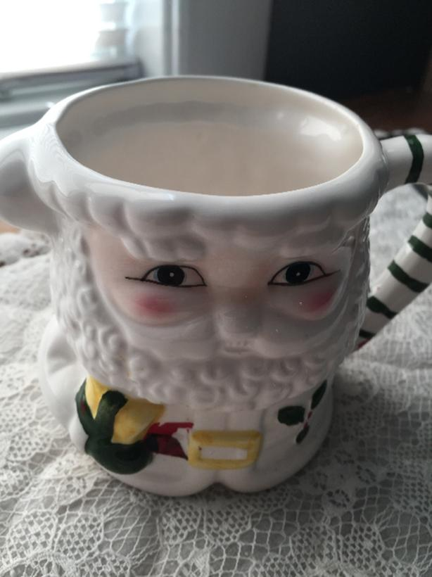 Ceramic Santa Claus Collector Mug