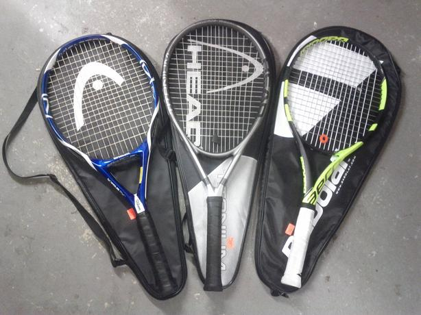 Tennis Rackets (The Right 1 Sold)