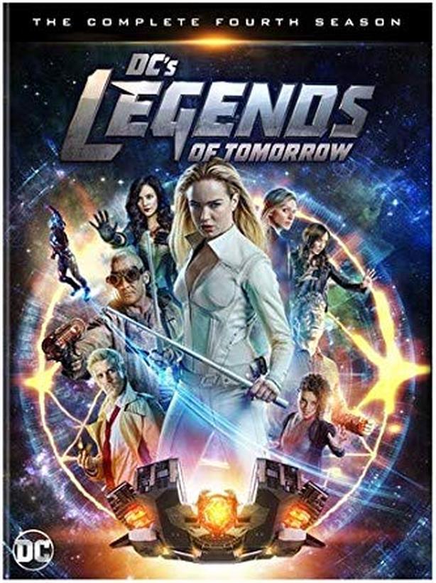 Legends of Tomorrow Season 4 on DVD