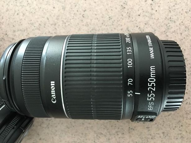 Canon EFS 55-250mm IS kit lens