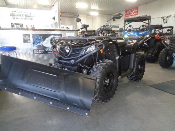2020 CFMOTO CFORCE 400 BLIZZARD EDITION Equipped with plow