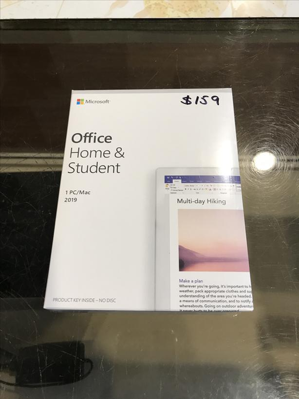 BRAND NEW FACTORY SEALED Microsoft Office Home and Student 2019!