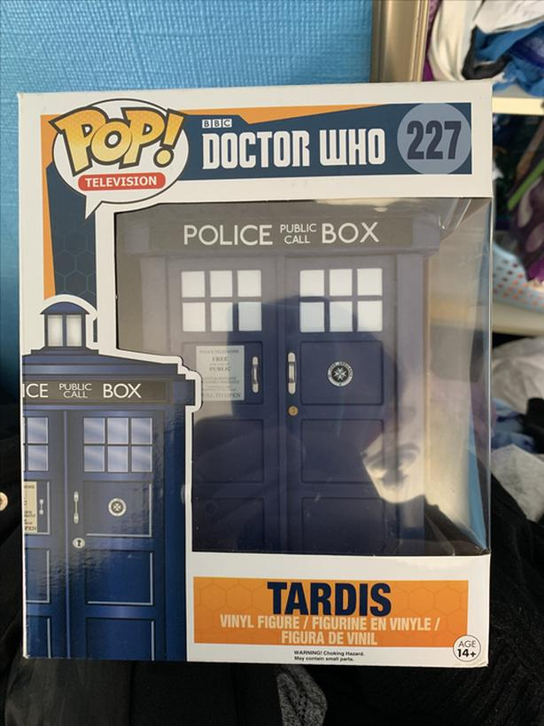 Tardis Funko POP Autograft by Paul Mcgann