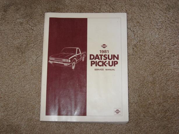 1981 Datsun pick-up truck Model 720 repair Manual