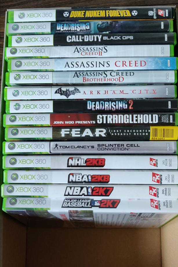 XBOX 360 Games - $3, $1 and some free!