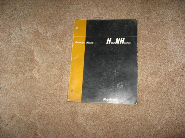 1973 Cummins Diesel N and NH series shop Manual