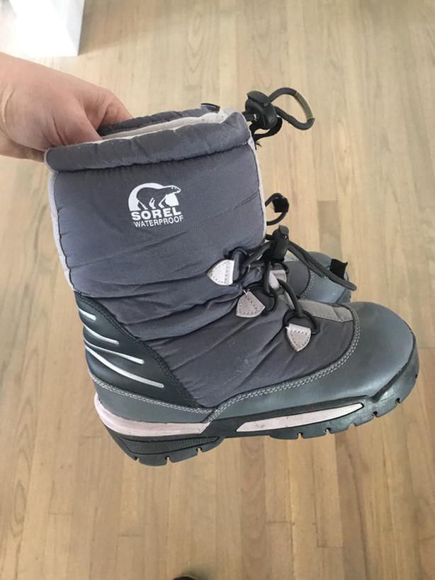 Children's Size 1 Sorel Winter Boots