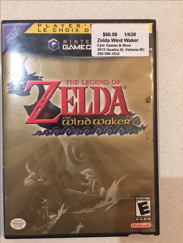Wind Waker for Game Cube
