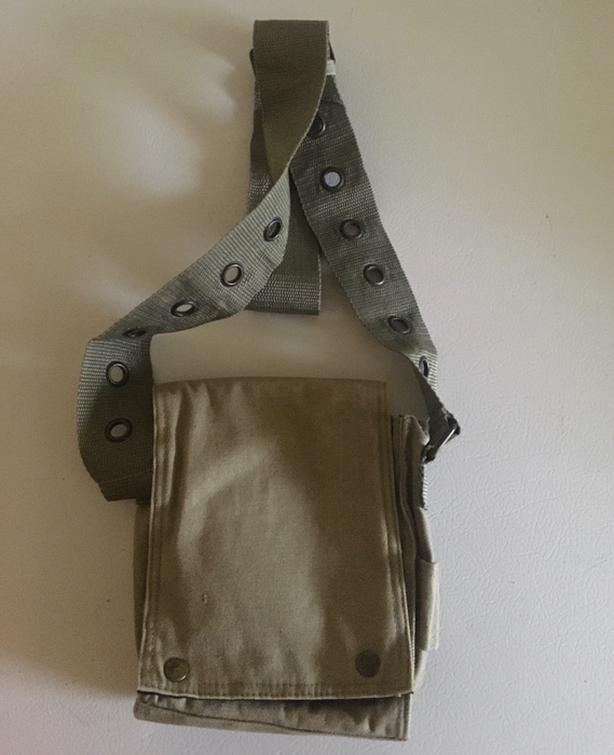 Army style shoulder bag