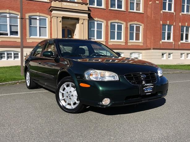 2000 Nissan Maxima GLE, Loaded, Low Kms,  Leather, Sunroof