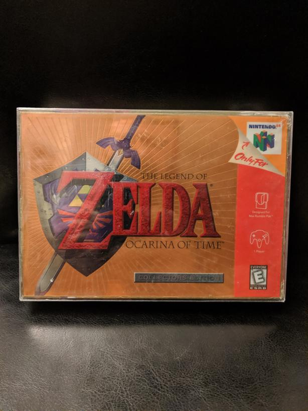 N64 Gold N64 The Legend of Zelda Ocarina of Time collectors edition