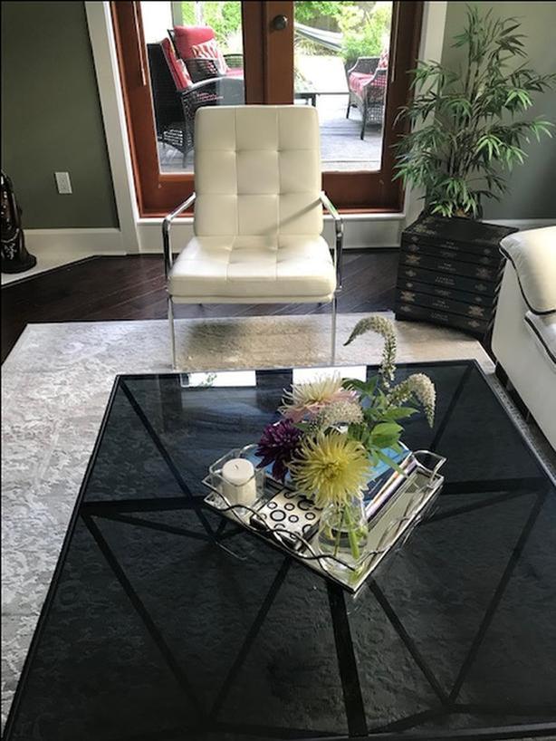 FREE: Modern white chair