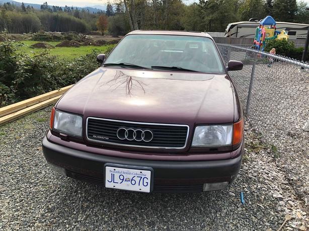 94 Audi Quattro 100