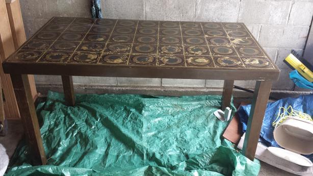 FREE: solid table for garage or workshop