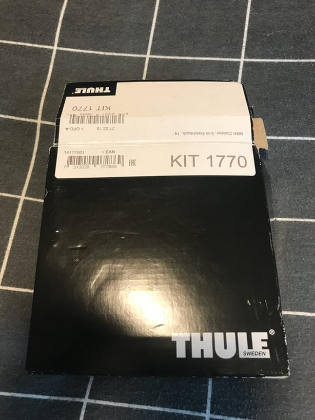 Thule Fit Kit 1770 (for pre-2017 Mini Cooper
