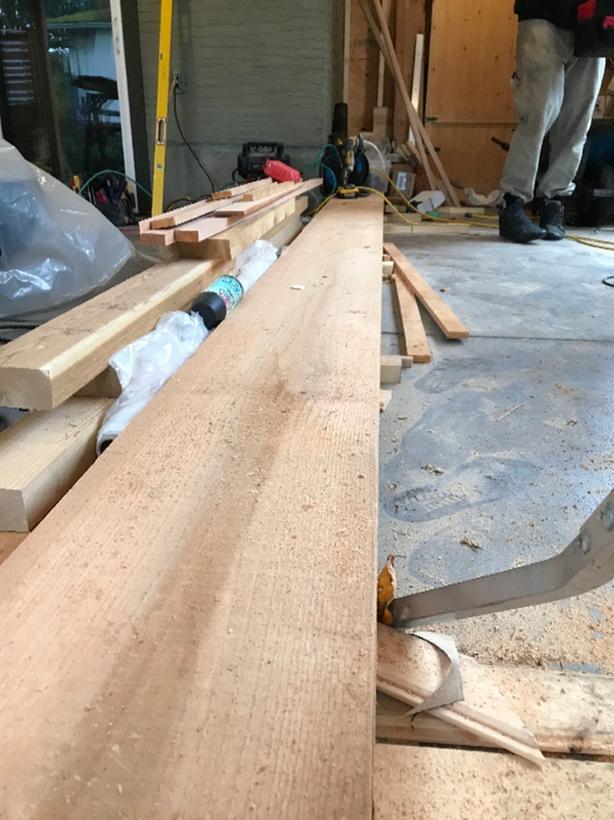 2x12 Rough Cut Tight Knot Cedar