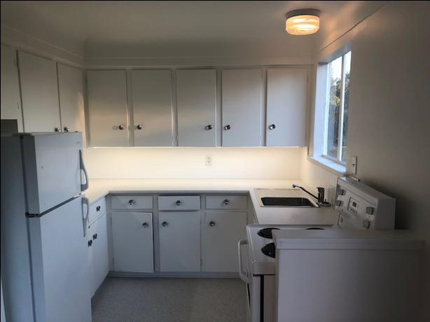 beautifully renovated one bedrooms suites includes heat and hot water