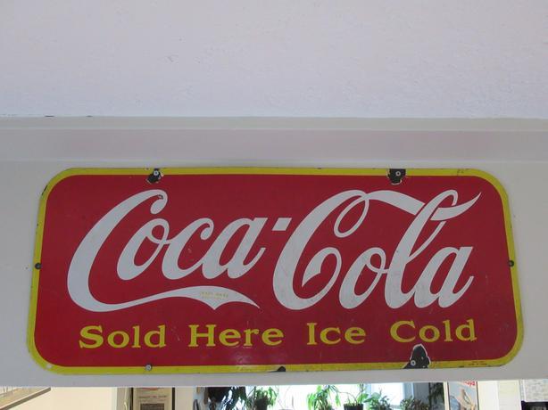 Rare 1941 Coke sign