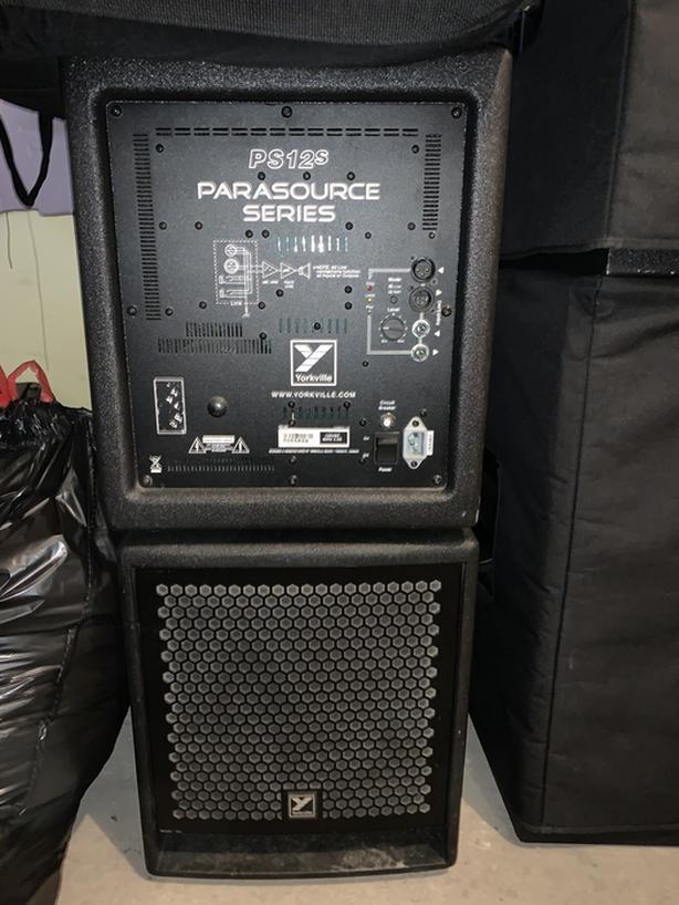 P.A. gear for sale excellent condition