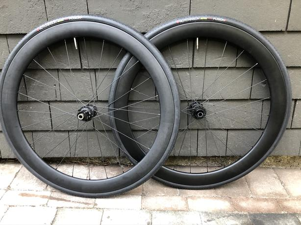 Prime Carbon Clincher Disc wheelset