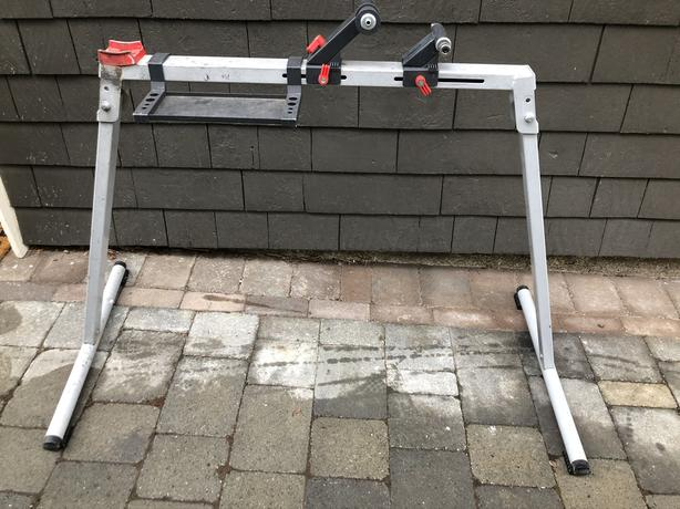 Folding work stand