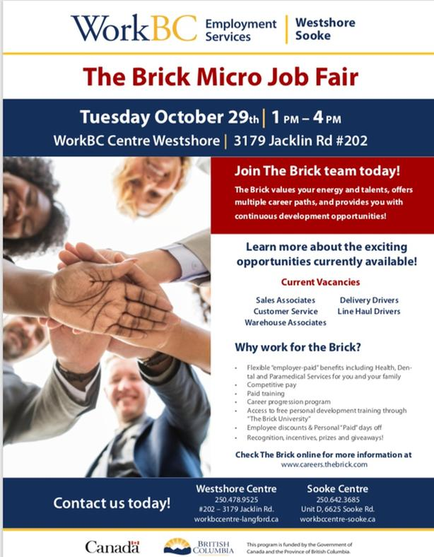 The Brick Micro Job Fair