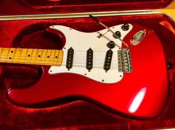 Fender Stratocaster Type Electric Guitar Made in USA