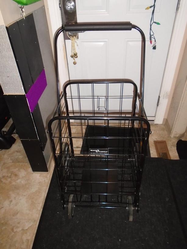 Heavy Duty Shopping Cart  -- Used 1X