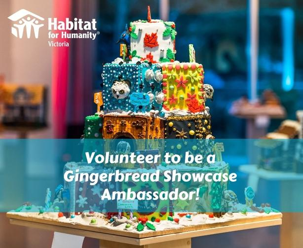 Volunteer to be a Gingerbread Showcase Ambassador
