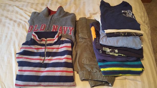 Boys size 8 clothing