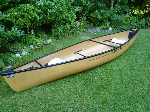 Canoe Clipper  Kevlar Ultralight Escape 14' 6""
