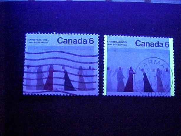SCOTT 650 UNTAGGED CHRISTMAS STAMP