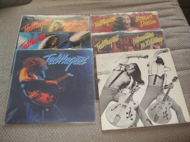 TED NUGENT RECORD LOT